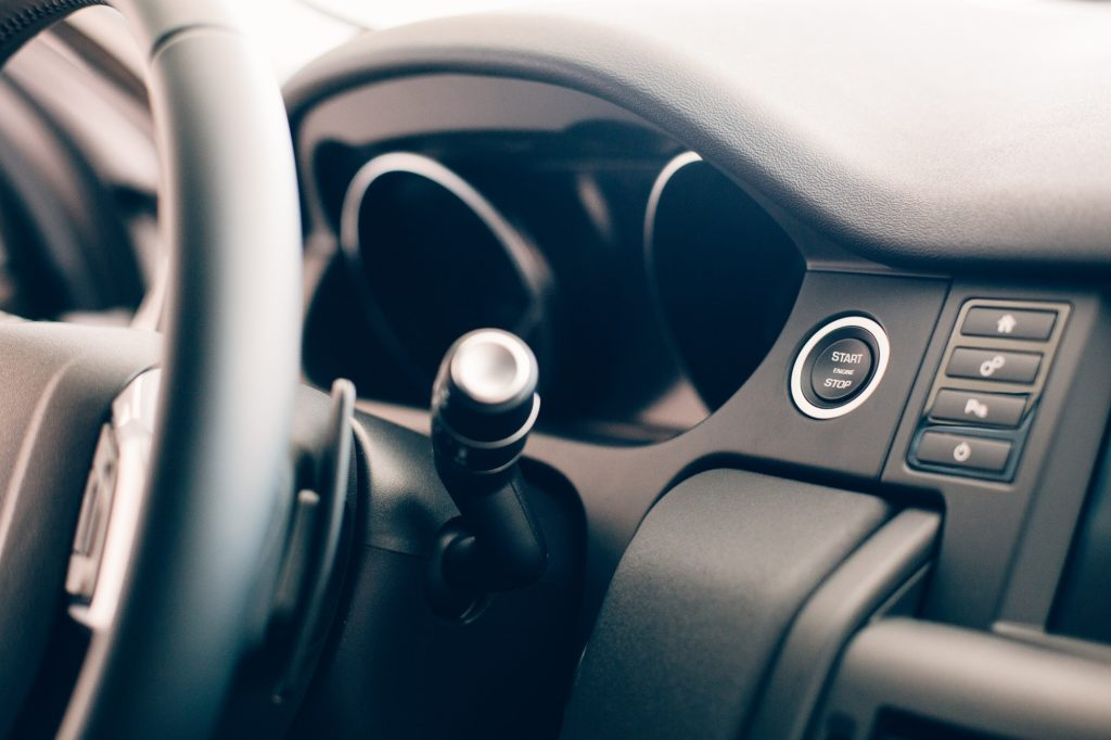 Car steering wheel details